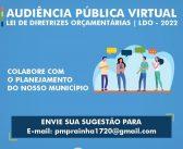 Audiência Pública Virtual – LDO 2022