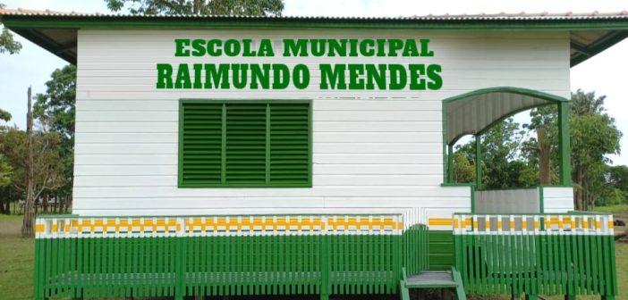 Convite: Inauguração da Escola Municipal Raimundo Mendes em Itanduba